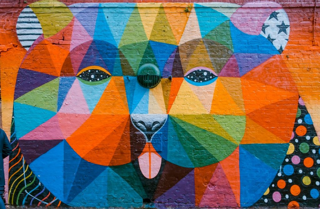 bear street art